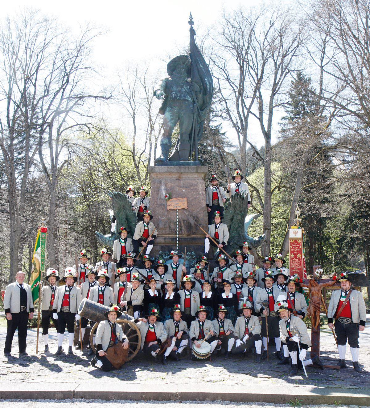 Die Schützenkompanie Hart (© www.eventfotografie.cc, Roman Potykanowicz)